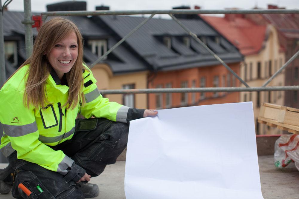 Byggnadsingenjör hållbart byggande