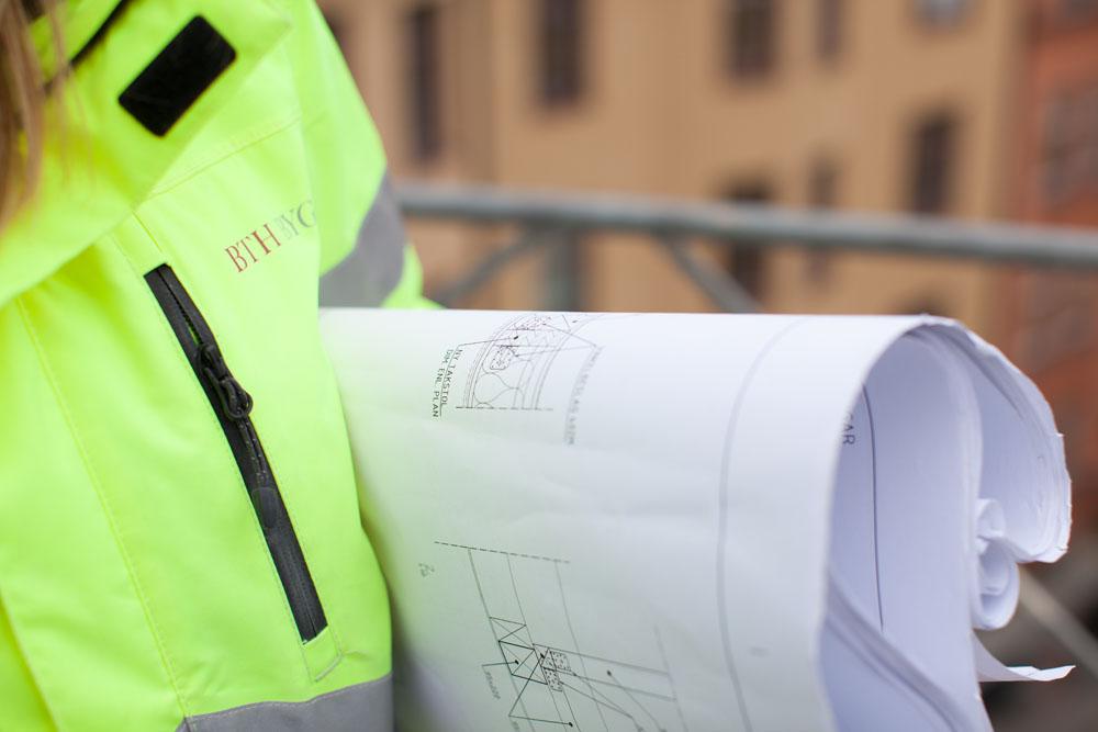 Byggnadsingenjör ombyggnation och byggnadsvård